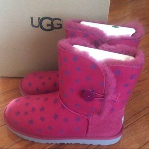 🔥SALE🔥Authentic 🆕 UGG bailey button star boots